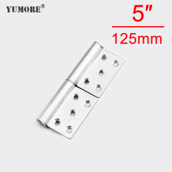 Armario de esquina de flexión de muelle de plástico aluminio bisagras del Monitor de rodillos