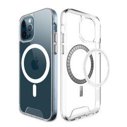 2021 Magnetic Offizielle Wireless Mag-Safe Clear Phone Case Kompatibel 6,1-Zoll Durchsichtige Tasche für iPhone 12 / iPhone 12 pro