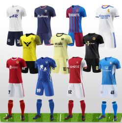 Camisolas de futebol personalizadas para a camisola da equipa do fabricante de camisolas de alta qualidade Sportswear Para os homens