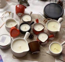 Massage-Sojabohnenöl-Wachs mit duftender Kerze
