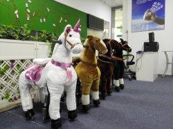 Poucos Mecânica Pony Toy Cavalo passeio de pônei humana