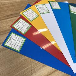 4*8FT claro e PVC Multi-Color folha rígida para o cartão