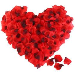 Silk Rosen-Blumen-Blumenblätter für Hochzeits-Dekoration