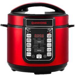 5L, 6L CB/CE/EMC cozinha doméstica aparelho multifuncional de aço inoxidável Pressão Elétrica panela elétrica de arroz, Panela de Pressão, panela elétrica de arroz