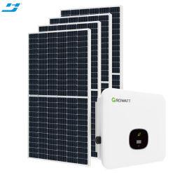 على الشبكة الشركة المصنعة تخصيص 10 كيلو واط 5 كيلو واط 20 كيلو واط للطاقة الشمسية نظام لوحة الطاقة