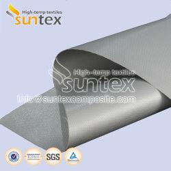Hochtemperaturwärmeisolierung-doppelseitige silikonumhüllte Fiberglas-Gewebe