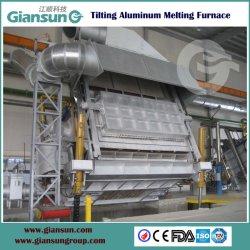 Inclinando tipo rigeneratore forno di alluminio del forno di fusione