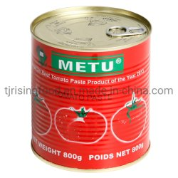 Vendita all'ingrosso fabbrica di pomodoro in scatola da 800 g con il miglior prezzo