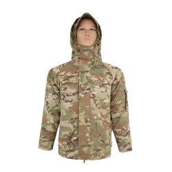 더블 세이프 실외 캠핑 방수 스포츠 카무플라주 플리스 타티칼 M65 헌팅 재킷