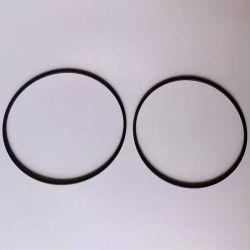 De alta temperatura de color negro de la junta de PTFE grafito de sellado de juntas de PTFE relleno y la junta tórica