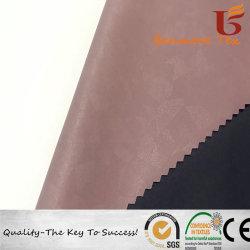 Tissu de nylon avec film PU Jacquard respirant composé pour veste extérieure