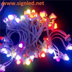 50PCS/String IP68 5V RGB LED Durchmesser des Pixel-Ws2811 12mm