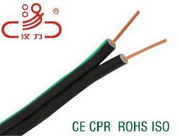 2*0,8 мм, 2*0.71мм, 2*1,0 мм Drop провод RoHS, утвержденном CE