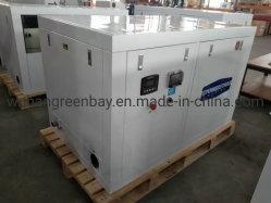 Générateur de marin diesel avec silencieux refroidi par eau de mer