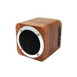 De houten Stereo Draagbare Draadloze Spreker van de Spreker Bluetooth met FCC van Ce RoHS
