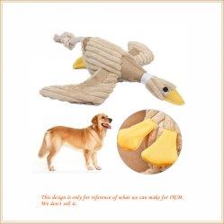 Funny Pet Chew Squeaker estridente Som de pelúcia Duck para animais de estimação