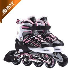 4 rodas ajustáveis retráctil Kids Skate Inline com maxilas