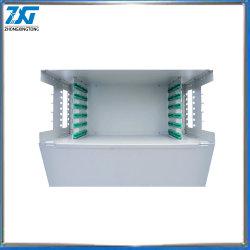 Montagem em rack 1U ODF da estrutura de distribuição de Fibra Óptica