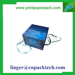 Op Maat Gemaakte Multi Laders Stoarge Display Paper Box Met Lint