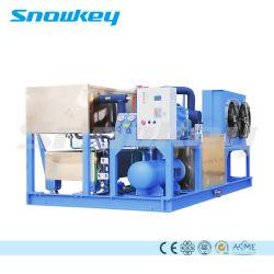 Nouvelle conception de type en aluminium refroidissement direct 2,5 T/D blocs de glace Making Machine