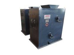 Gradiente elevado tipo de caixa do tambor Duplo Removedor de ferro preservar a pureza do produto removendo partículas pequenas de escala magnético, ferrugem e contaminação de ferro fino