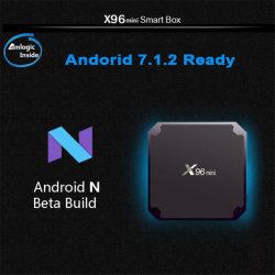Amlogic S905W Android 7.1 X96 Mini 4K TV Box 1 Go 8 Go DDR3 Quad Core Smart OEM Android TV Box