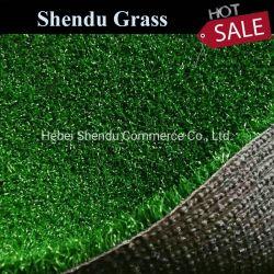 De openlucht Kunstmatige Leveranciers van het Gras met het Groene Synthetische Gazon van de Tuin van het Gras