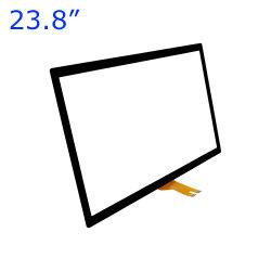 Cjtouch 23.8 インチ Kiosk タッチスクリーンパネル USB インターフェイス静電容量テクノロジー 16 : 9