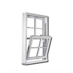 Double rotation UPVC Windows Grill de style d'ouvrir la fenêtre PVC