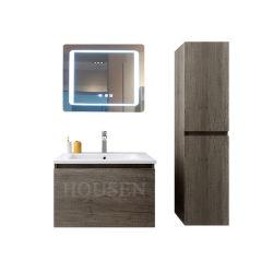 Ванной комнате с деревянной рамы наружного зеркала заднего вида