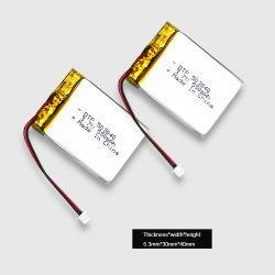 Лучшая цена перезаряжаемый литий-полимерные503040 Dtp 3,7В 550 Мач