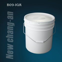 20L plastic Emmer met Deksel en Handvat b09-Igr