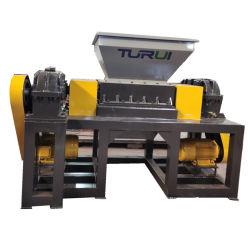 Doppelter Welle-Reißwolf/Reißwolf-Maschine für die Wiederverwertung der Metallschrotte/der verwendeten Gummireifen/des Soild Abfalls/des Plastiks/des Holzes verwendet in der Plastikaufbereitenzeile/in der Plastikaufbereitenmaschine
