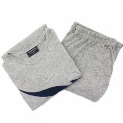 Hochwertiger Schlafanzug aus Baumwolle Mit Ladenmuster für Damen