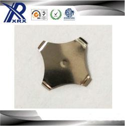 De Granaatscherf van de Schakelaar van het Terugstellen van de Koepel van het metaal raakt de Schakelaar van het Membraan van de Schakelaar, met Vlek