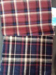 ワイシャツおよび衣服のためのとかされた綿Yarn-Dyedファブリック小切手のドビーのストリップデザイン