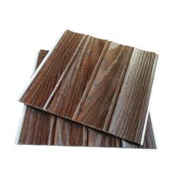 中国の製造者250mm Plafond Lambris PVC 3D屋根の天井デザイン積層物のプラスチック波の壁のパネル・ボード