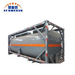 액체 화학 운반에 사용되는 낮은 가격 표준 20ft/40ft ISO 탱크 용기