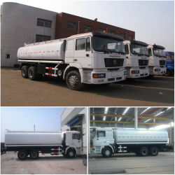 Shacman Oil Tanker Trucks 25000L F2000/6X4 Euro3 Common Rail Injection
