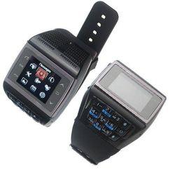 De nieuwe OEM van het Ontwerp Telefoon van het Horloge dubbel-SIM
