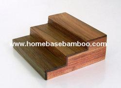 ウォールマートのアカシアの木製のテーブルトップの香辛料用の棚の記憶のオルガナイザーの棚