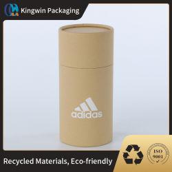 복합 튜브 판지 종이 튜브 분해성 선물 상자 분말 패키지 프리미엄 맞춤형 식품 등급 포장