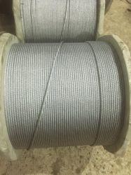 Câble en acier galvanisé 6X7 pour le treuil