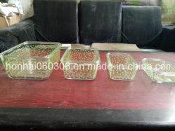 Insieme di vetro di Bakeware della gru a benna facile di Pyrex 4-Piece