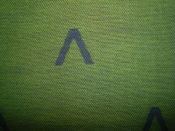 Heather de fios de algodão tingidos de tecido Jacquard