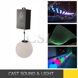 Cheap Disco étape effet boule de lumière LED RVB de levage