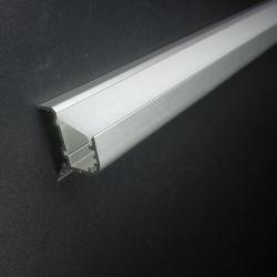 Alu-4118 Disco LED faixa luminosa alojamento para o perfil de alumínio de iluminação da linha