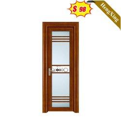 Stile Cinese materiale da costruzione bagno WC ingresso porta legno melammina Porta interna a cassettone in MDF (UL-22D067)
