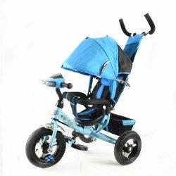 Hot Sale enfants Tricycle poussette bébé Singapour avec roues en caoutchouc