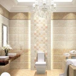 La preuve de l'eau vitrage Salle de bains poli-de-chaussée carrelage mural en céramique